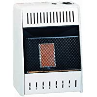 Kozy World Propane Infrared Gas Wall Heater, 6,000 BTU- KWP110