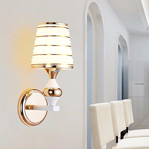 Ehime Wand lampe Nachttischlampe modernen minimalistischen Kreative LED-Wandleuchte Schlafzimmer Wohnzimmer Treppenhaus passage Crystal Wand leuchten keine optische Quelle