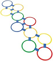 OTC Plastic Hopscotch Outdoor Ring Game - 25 Piece Set