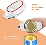 Electric Can Opener, Battery Operated Hand free