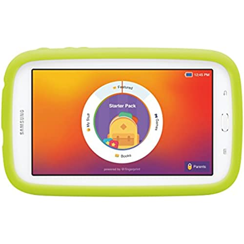 Samsung Galaxy Tab 3 Lite Kids Edition (7.0 Cream White with Green Bumper) Coupons