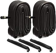 2 Pack 26 Inch Bike Inner Tubes 3 Tire Levers, Bicycle Inner Tube Width Range 26x1.9/1.95/2.0/2.10/2.125 inch
