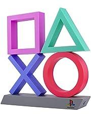Sony Playstation XL simgeler lambası, siyah/yeşil/kırmızı/mavi, plastik, LED fonksiyonlu