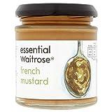 6X Essential Waitrose French Mustard 180g