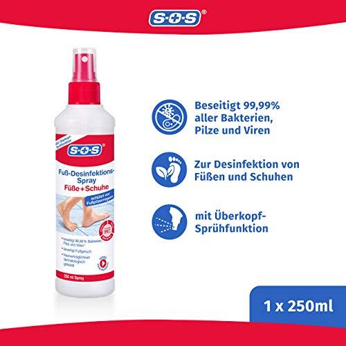 Sos Fuss Desinfektions Spray Desinfektionsspray Zur Grundlichen