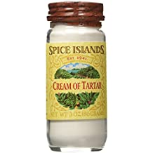 Spice Islands Cream of Tarter, 3-Ounce (Pack of 2)