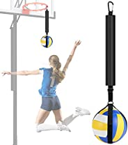 TOBWOLF Volleyball Spike Trainer, Volleyball Spike Training System for Basketball Hoop, Volleyball Equipment T