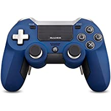 SADES Wireless Gaming PS4 Controller for PlayStation 4, Support Laptops, Desktop computers and Smart TV