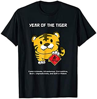 ⭐️⭐️⭐️ Year of The Tiger Chinese Zodiac  Lunar New Year Need Funny Short/Long Sleeve Shirt/Hoodie