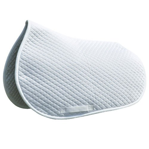 Intrepid International Shaped Quilted Cotton Saddle Pad