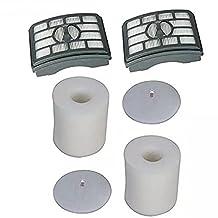 EcoMaid(TM) Accessories For Shark Rotator Pro Lift-Away NV500 NV501 NV505 NV552 HEPA Filter & Foam Filter Kit, Part # XFH500 & XFF500