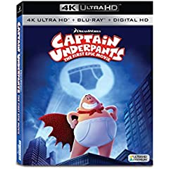 Captain Underpants: The First Epic Movie debuts on Digital Aug. 29 and on Blu-ray and DVD Sept. 12 from Fox