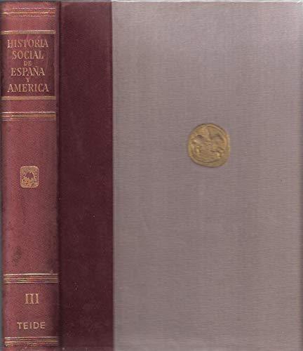 Historia social y económica de España y América. Tomo III: Amazon.es: Vicens Vives, J. (director): Libros