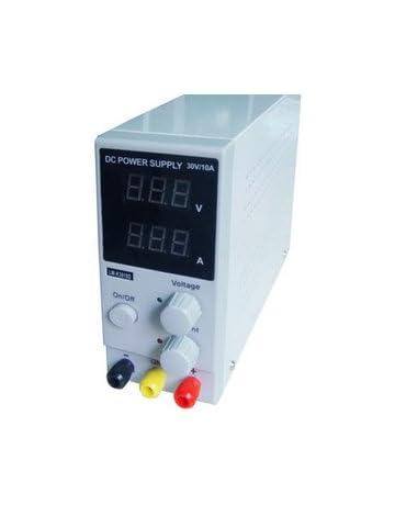 Hilitand 0-30V 0-10A Fuente de Alimentación de CC Fuente de Alimentación de