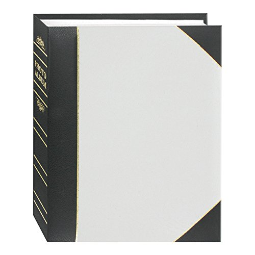 Pioneer Photo Albums BT-46/W 200 Pocket Ledger Le Memo Photo Album, White
