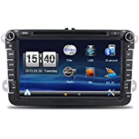 Navigation Seller- HD In Dash Double Din Car 8 Inch Stereo Radio Audio Head Unit GPS Navigation For VW CAR