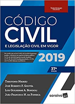 Código civil e legislação civil em vigor - 37ª edição de 2019