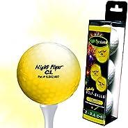 3-Pack LED Light Up Golf Ball
