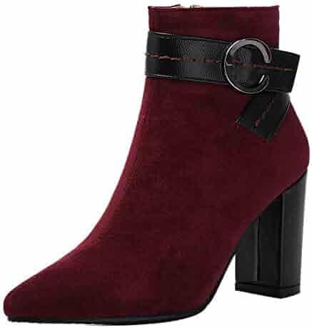 510a238b64c94 Shopping Buckle - Purple - Boots - Shoes - Women - Clothing, Shoes ...