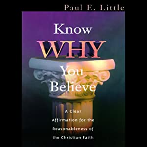 Know Why You Believe Audiobook