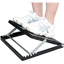 "Sportixx Adjustable Slant Board For Calf Stretch Incline Calf Stretcher, 4 Positions, 14.5"" x 11.5"" - Professional Physical Therapy Equipment (300 LB Capacity) - Fully Collapsible to 2"""