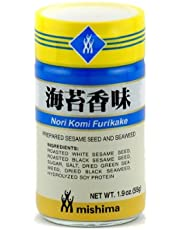 Nori Komi Furikake (Prepared Sesame Seed & Seaweed) - 1.9oz (Pack of 1) by Mishima