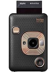 Instax Mini Liplay Hybrid Instant Camera - Elegant Black