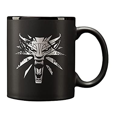The Witcher 3 White Wolf Ceramic Mug