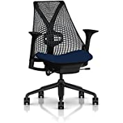 Herman Miller Sayl Task Chair: Tilt Limiter - Adj Lumbar Support - Adj Seat Depth - Height Adj Arms - Hard Floor...