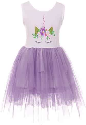 046e5153fb Little Girls Ruffle Sleeve Halloween Ghost Spider Tulle Party Flower Girl  Dress