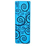 Blue with Black Swirl clickerskin fits i>clicker2