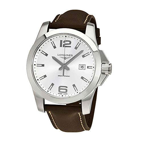 Longines Conquest Silver Dial