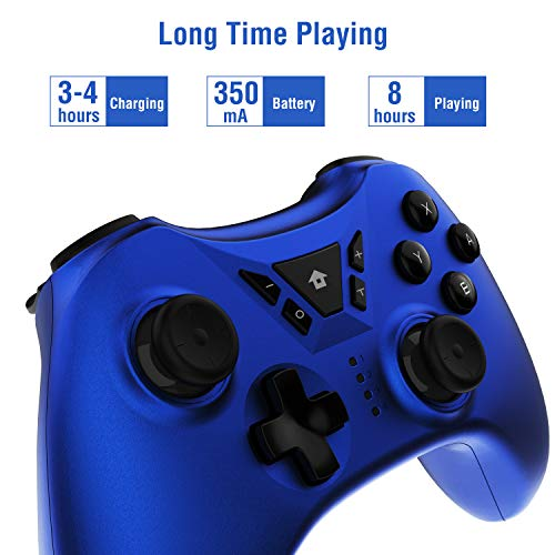 Switch Pro Controller, Wireless Switch Controller for Nintendo Switch, Supports Gyro Axis,Turbo and Dual Vibration Joystick Remote Pro Controller Gamepad