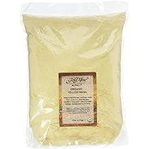 Gold Mine Natural Food Organic Corn Masa, Yellow Corn, 5 Pound Bag