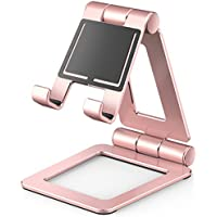 Hi-Tech Wireless Cell Phone Stand (Gold Pink)