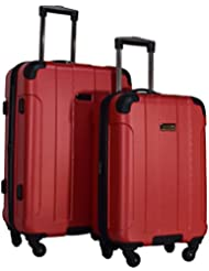 Kenneth Cole Reaction Central Park 2-Piece Expandable Luggage Spinner Set: 24 and 20