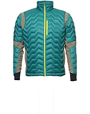Men's Green Insulated Jacket