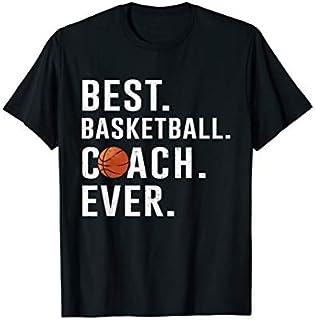 Best Basketball Coach Ever  Gift Basketball Fans T-shirt | Size S - 5XL