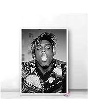 Póster Juice Wrld Póster Muziek Ster Rap Hip Hop Pósters Art Canvas Schilderij Muur Foto Voor Woonkamer Slaapkamer Home Decor 50 * 70 Cm Geen Frame