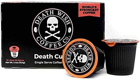 Coffee Pods: Death Wish Coffee