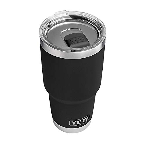 YETI Rambler 30 oz Stainless Steel Vacuum Insulated Tumbler w/MagSlider Lid, Black