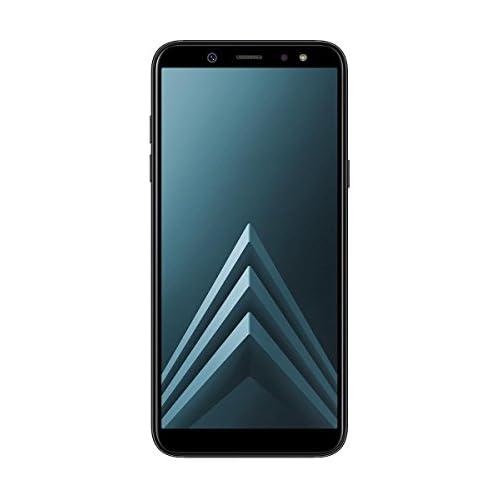 chollos oferta descuentos barato Samsung Galaxy A6 Smartphone libre Android 8 0 5 6 HD Dual SIM Cámara Trasera 16MP Flash y Frontal 16MP Flash Negro 32 GB 5 6 Versión española