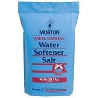 Morton U26624S Solar Salt Water Softening Crystals, 40-Pound