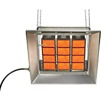 SunStar Heating Products Infrared Ceramic Heater - LP, 100,000 BTU, Model# SG...