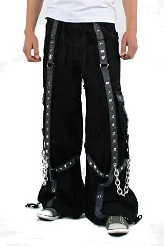 Tripp Gothic Industrial Bondage Techno Camo Electro Rave Baggy Jeans Pants