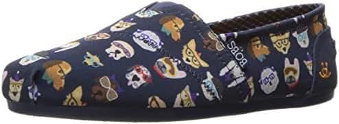 BOBS from Skechers Women's BOBS for Dogs Plush Slip-On Flat