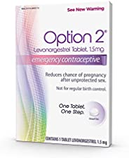 Option 2 Levonorgestrel Tablet, 1.5 mg, Emergency Contraceptive, 1 Tablet