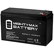 12V 8AH Sealed Battery Replaces 12v 7.5ah Motorola 612 ONT - Mighty Max Battery brand product