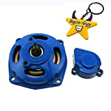 Race-Guy Blue 25H 6 Tooth Clutch Drum Gear Box With Cover For 2 Stroke 47cc 49cc Kids Mini Pocket Bike ATV Quad Baja Drif Racing Go Kart Cart (Blue)