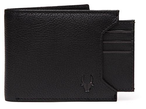 WildHorn® Old River Black Genuine High Quality Mens Leather Wallet